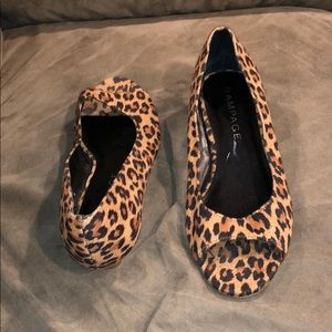 Rampage Cheetah Wedges